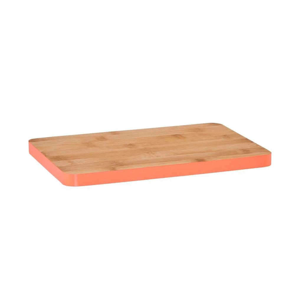BAMBOO Bambusové prkénko 35 cm - tm. oranžová