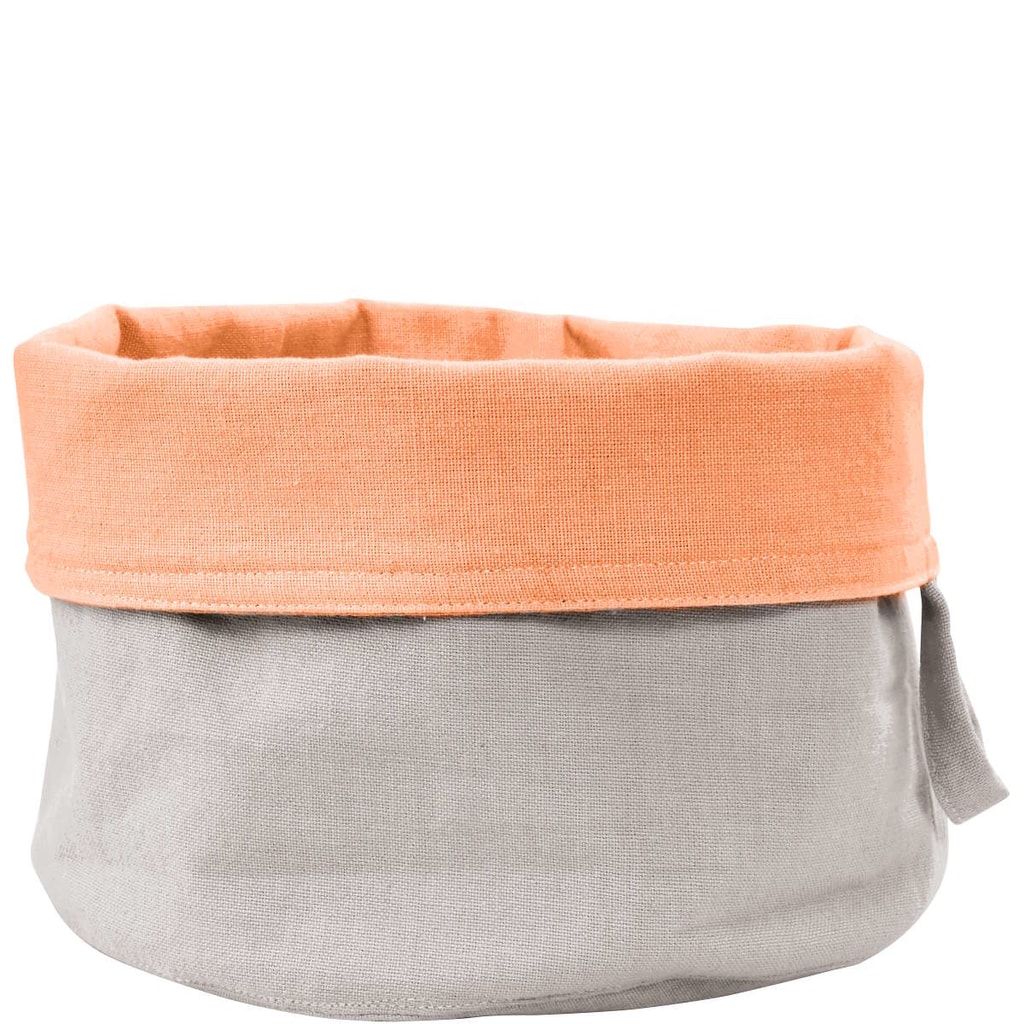 SHERE Košík na pečivo textilní - šedá