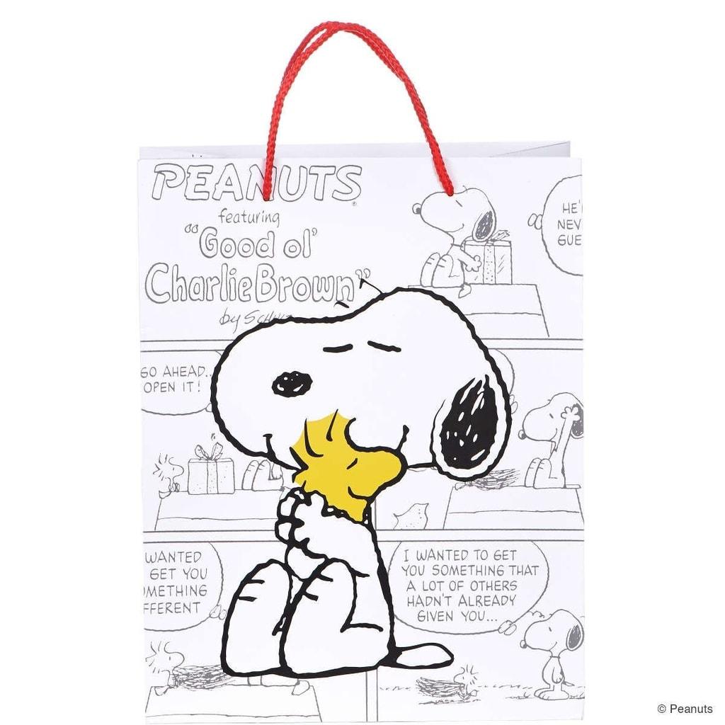 Fotografie PEANUTS Dárková taška Snoopy & Woodstock