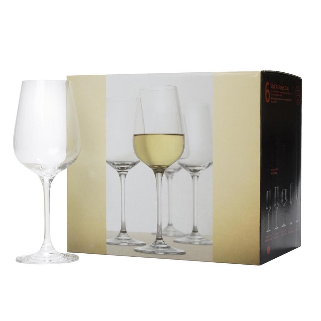 SANTÉ Sklenice na bílé víno 360 ml, set 6 ks