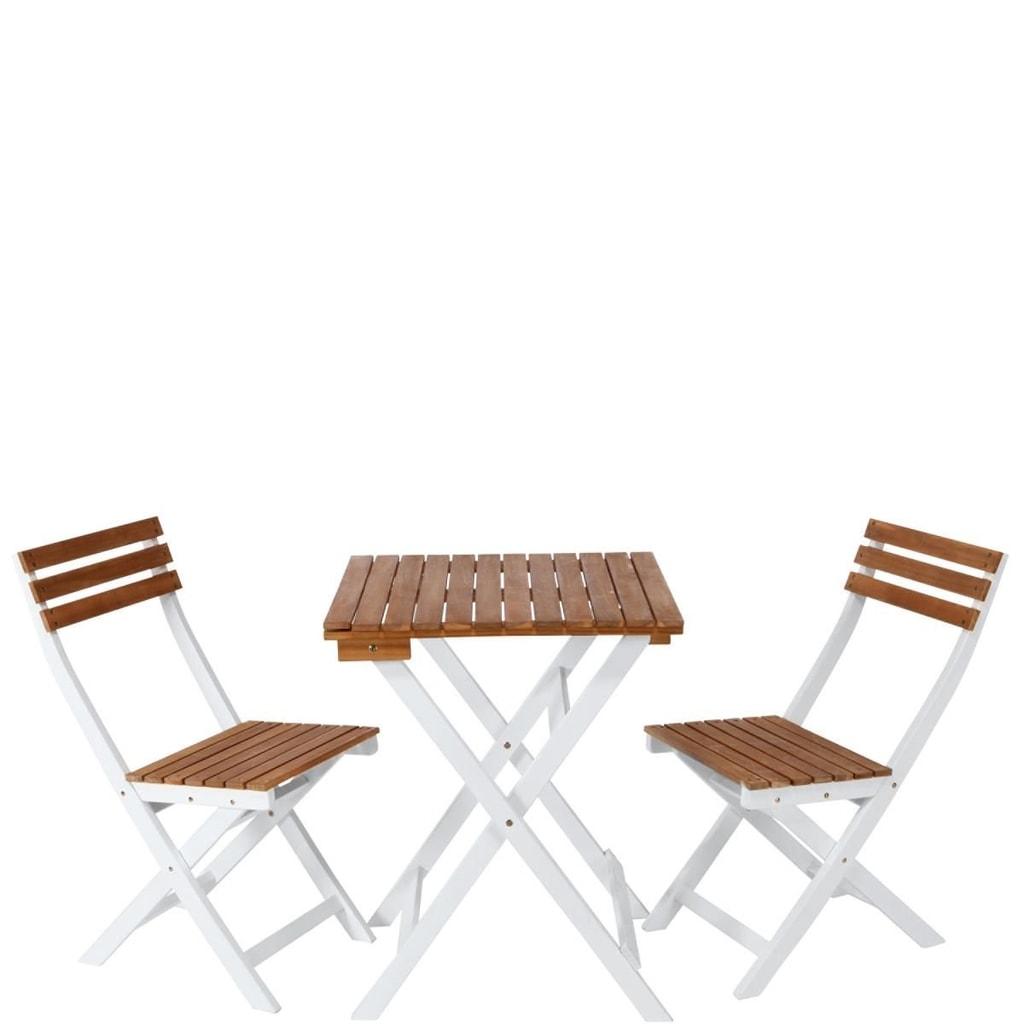 MORNING STAR Balkonový set 2 židle a stůl