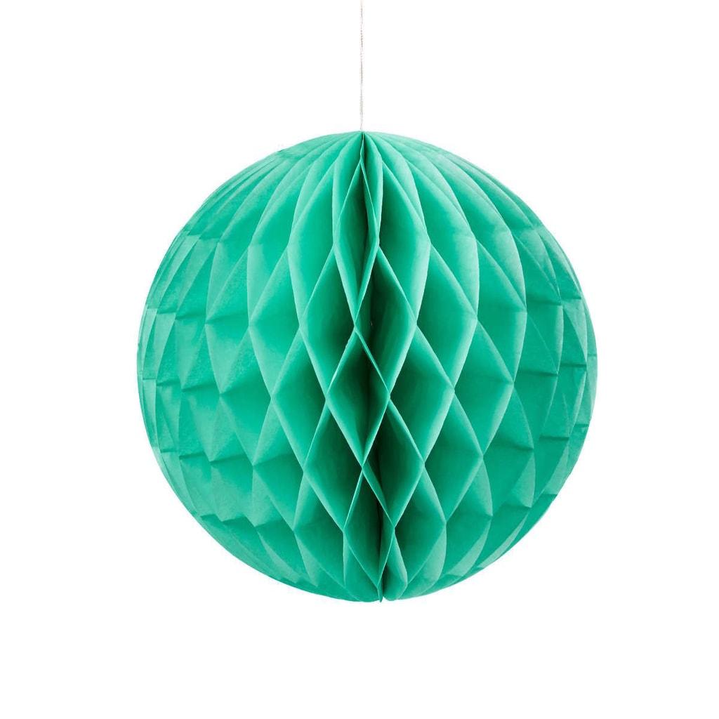 MAJA Papírová dekorační koule 30 cm - mátová