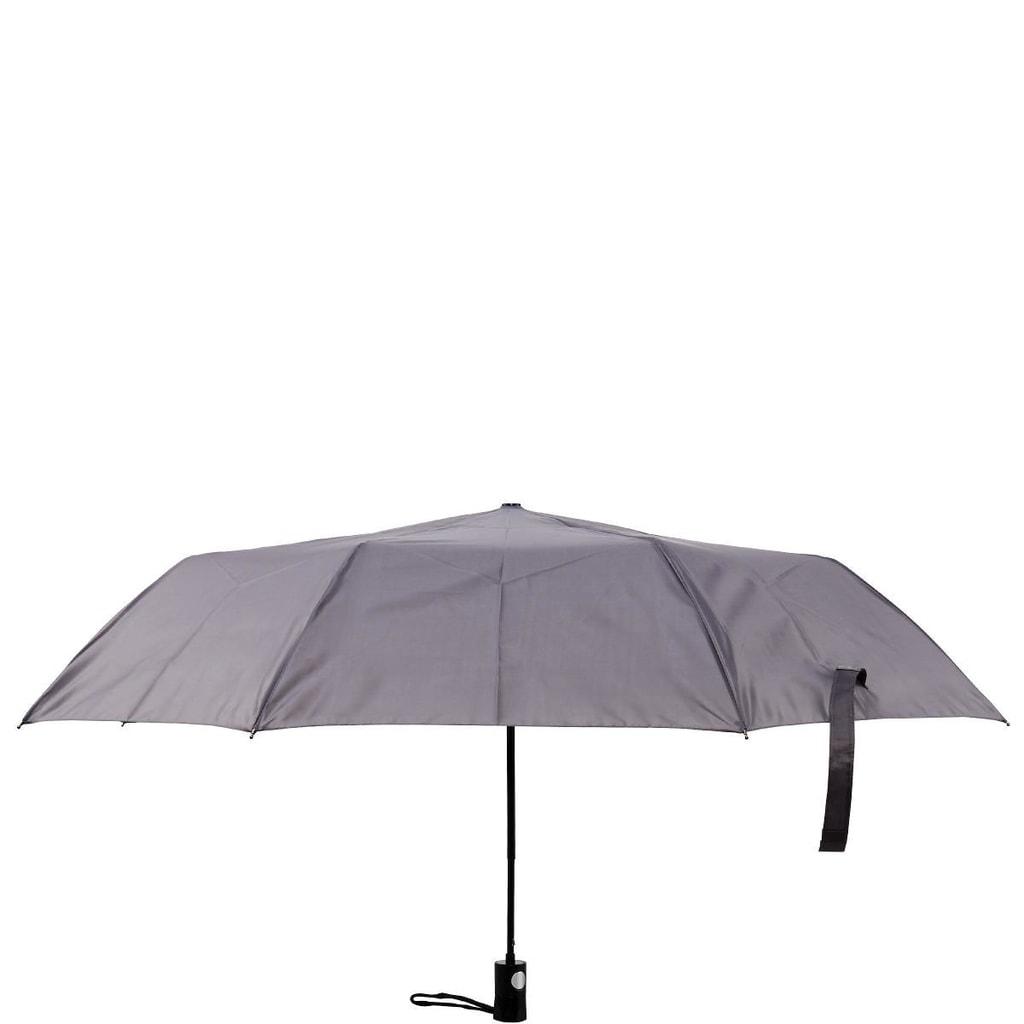 RAIN OR SHINE Skládací deštník - šedá