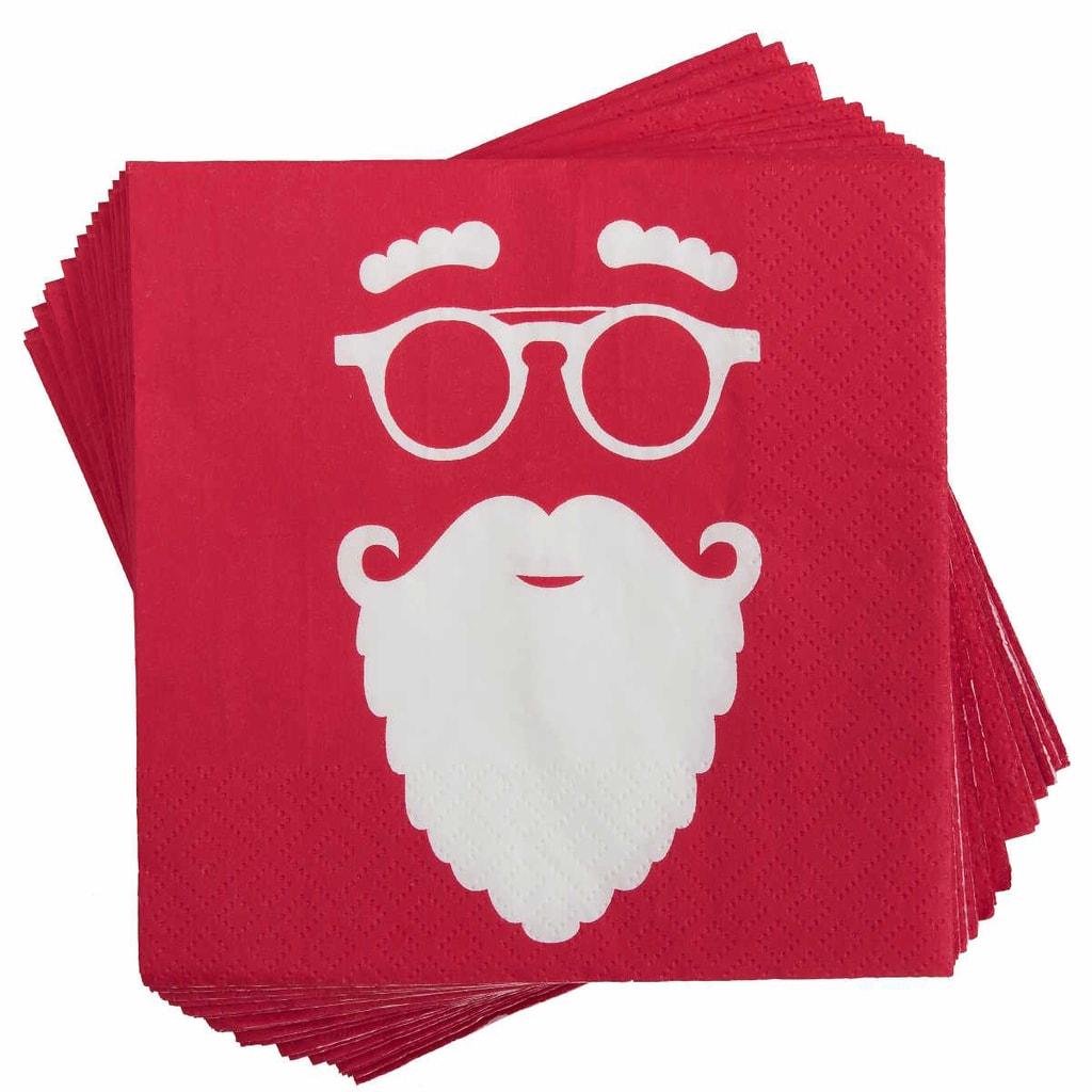 APRÉS Papírové ubrousky Cool Santa