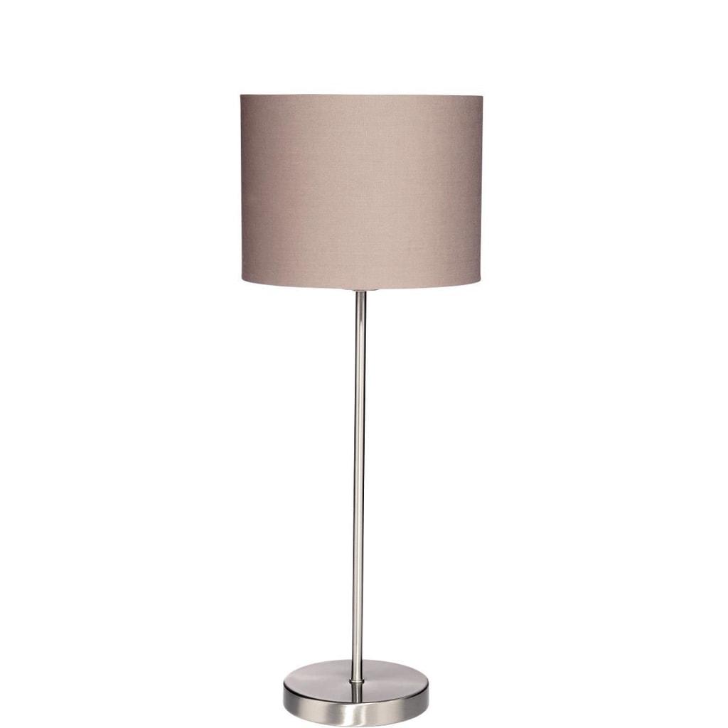 STILO Stolní lampa - šedohnědá
