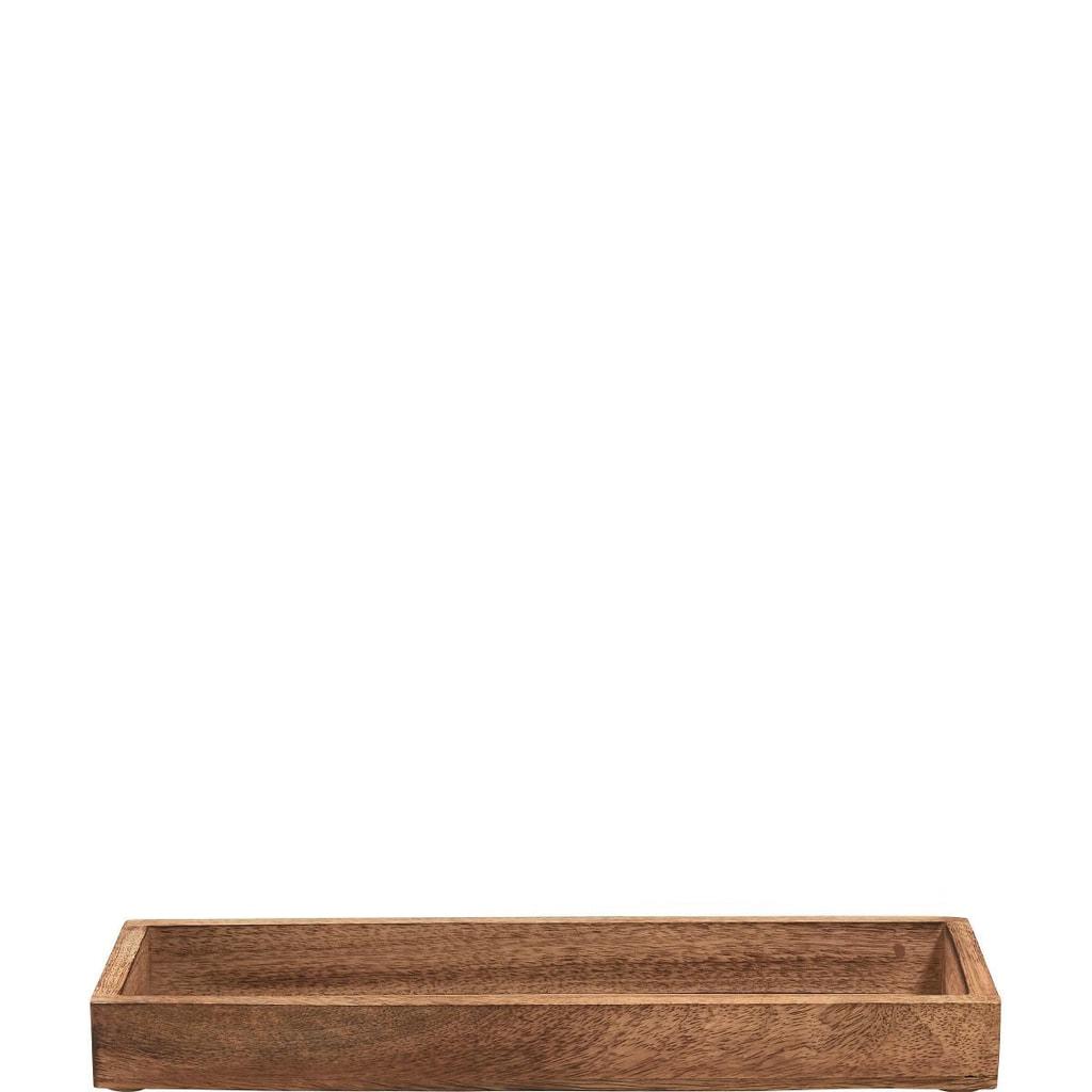 ASIA Podnos z mangového dřeva, 34 cm