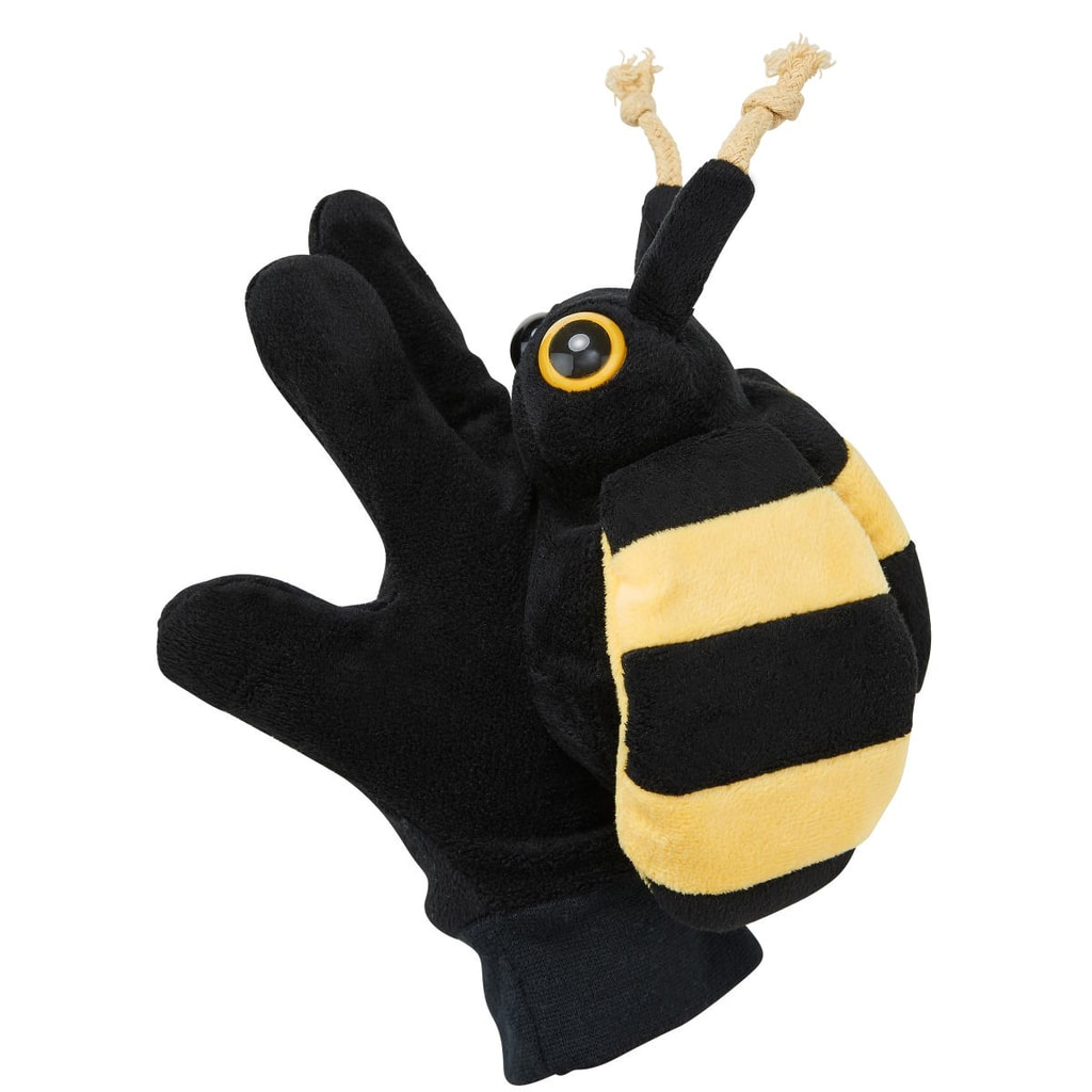 WILD GUYS Maňásek na ruku včela