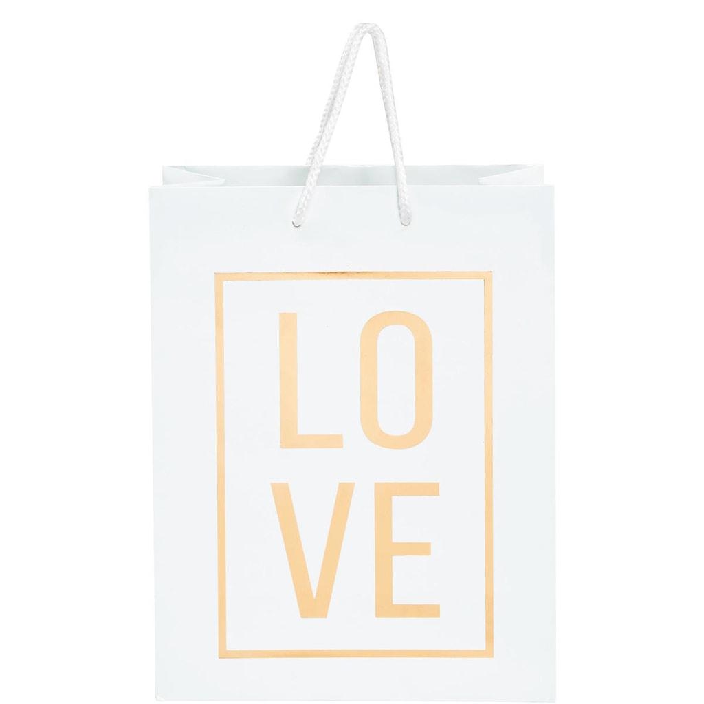 LOVE Dárková taška velká