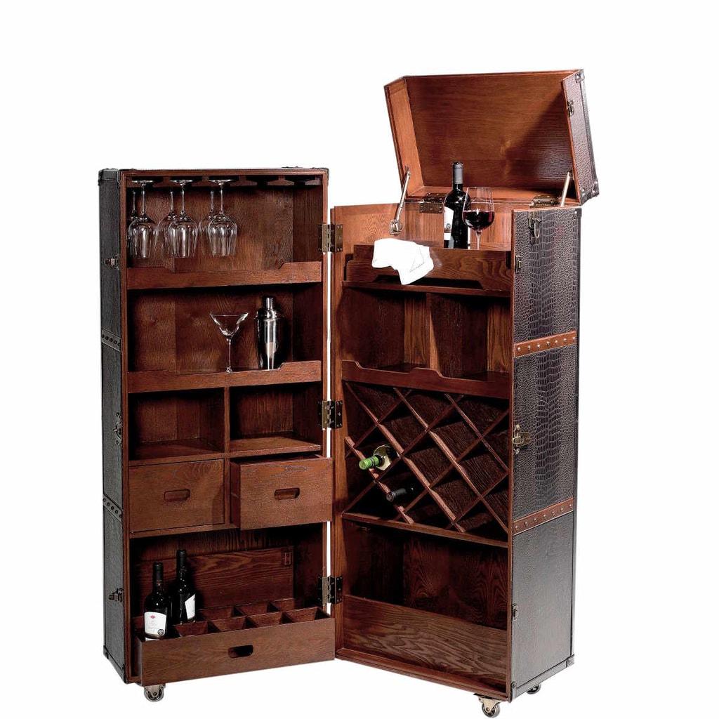 hemingway bar v kufru. Black Bedroom Furniture Sets. Home Design Ideas