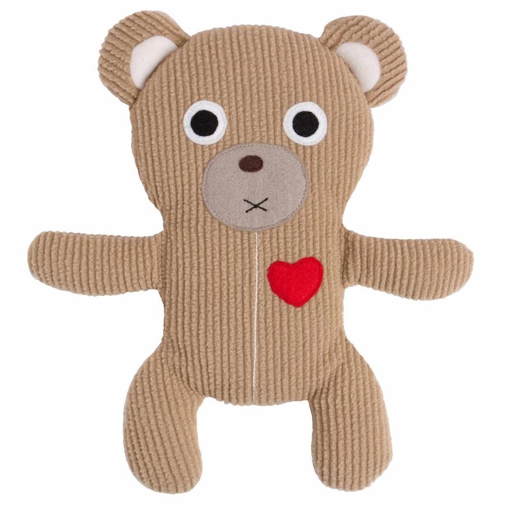 HOTN TOTS Hřejivý polštářek medvídek - béžový