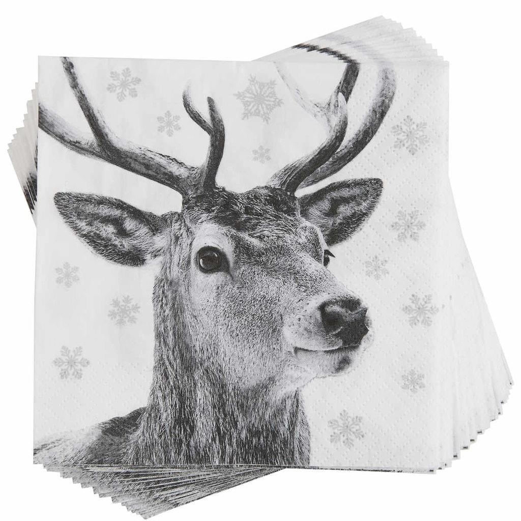 APRÉS Papírové ubrousky jelen