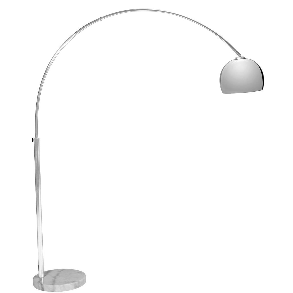 BOW Oblouková lampa chrom