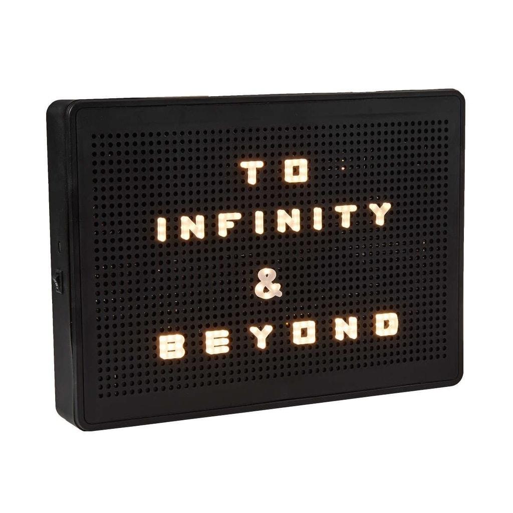 MATRIX Světelný box A4 LED svítící písmenka