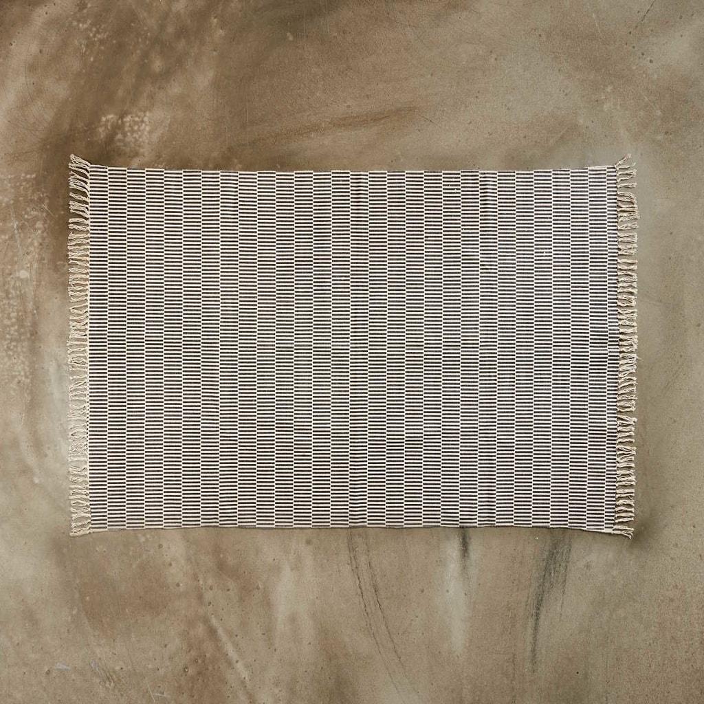 SILENT DANCER Koberec 120 x 170 cm - černá/krémová