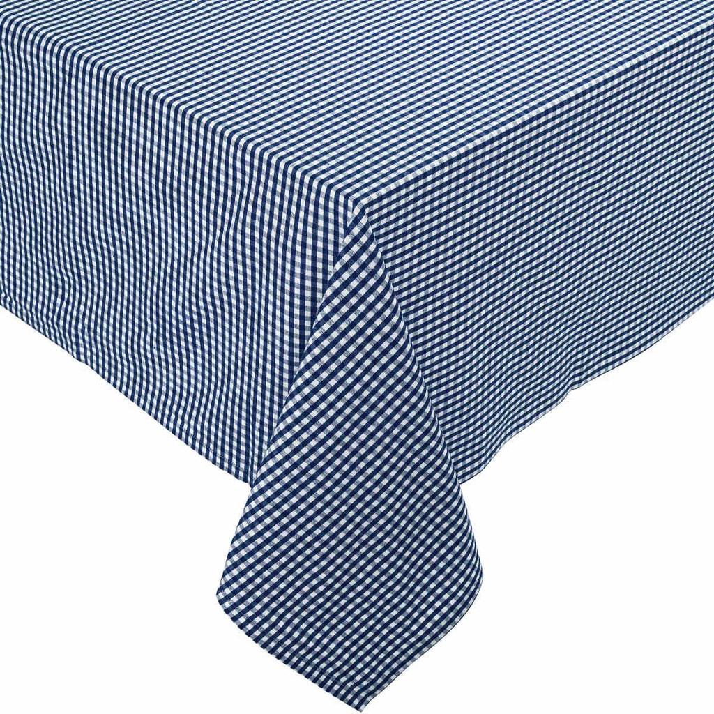 VICHY Ubrus 90x90cm - modrá