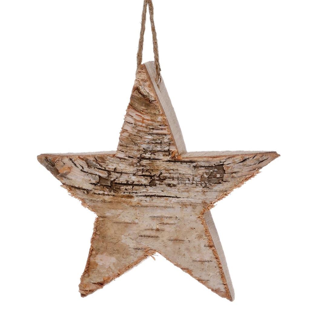 HANG ON Ozdoba hvězda 10 cm