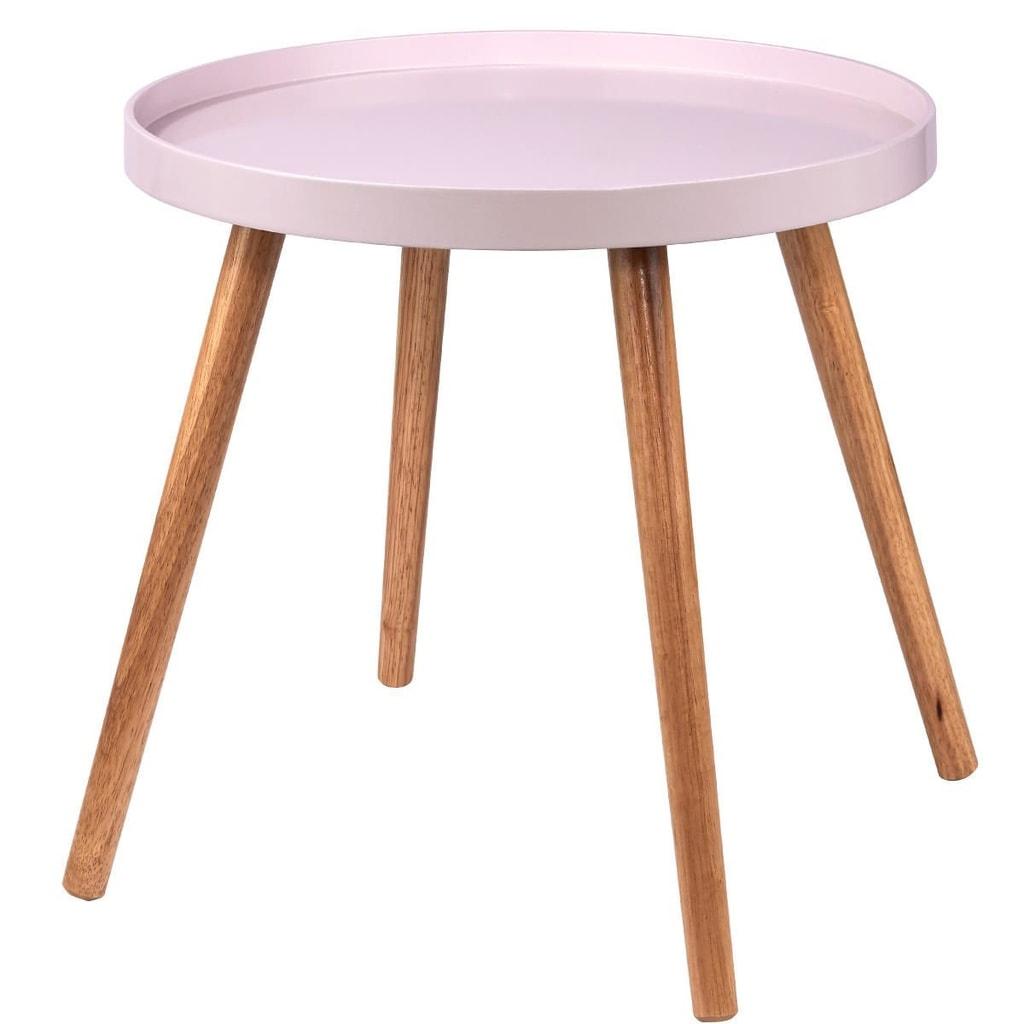 Fotografie SWING TIME Příruční stolek - růžová