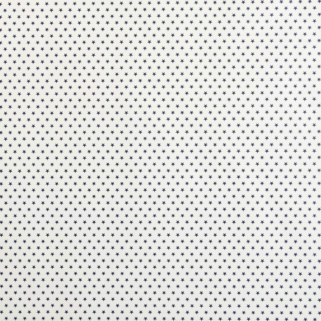 STARS Dárkový balící papír - bílá/modrá