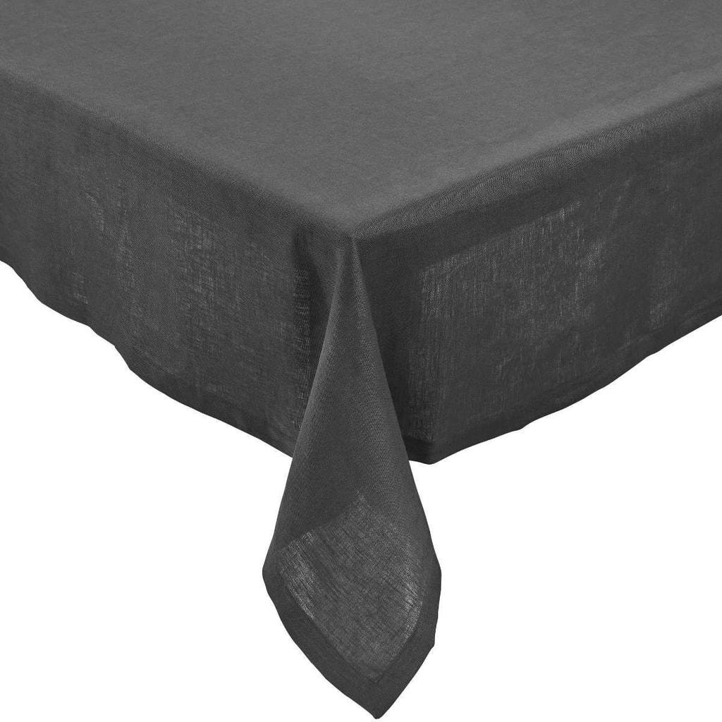 PLAIN & NOBLE Ubrus 150 x 300 cm - šedá