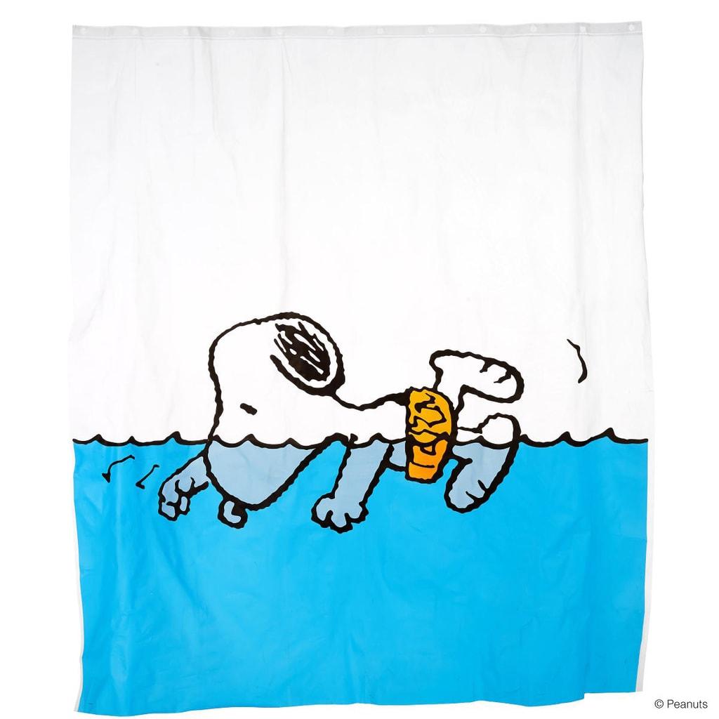 PEANUTS Sprchový závěs Snoopy