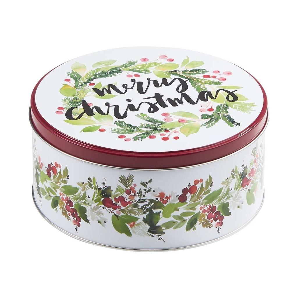 "COOKIE JAR Dóza kulatá ""Merry Christmas"" 16,7 cm"