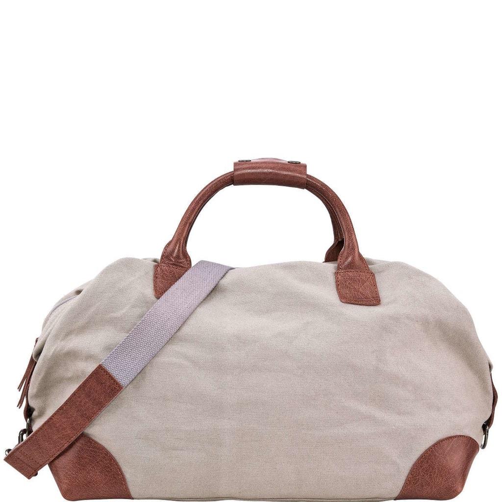 TRAVELLER Plátěná taška - šedá