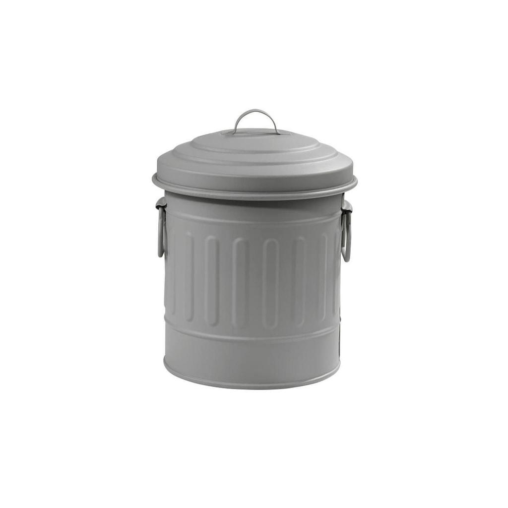 LITTLE OSCAR Odpadkový koš 1 l - sv. šedá