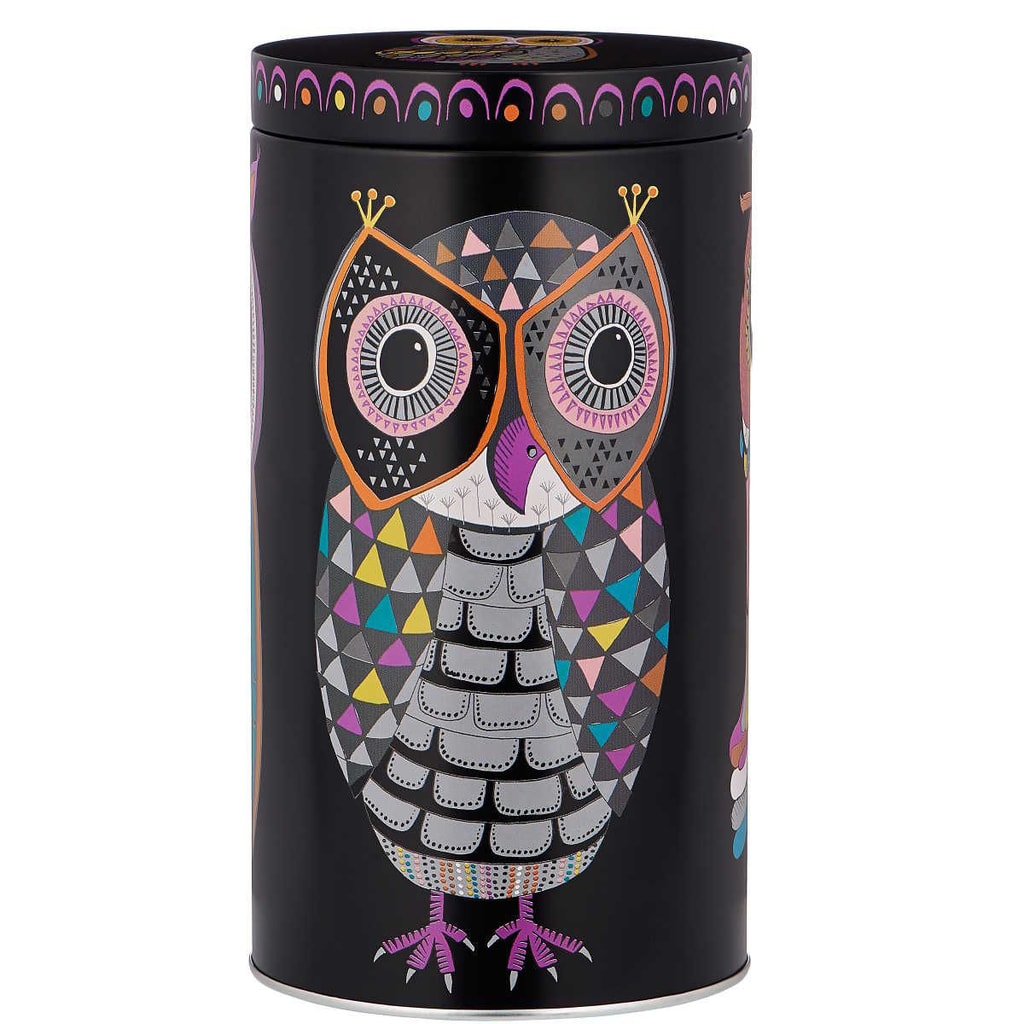 BLACK OWL Dóza na kávu