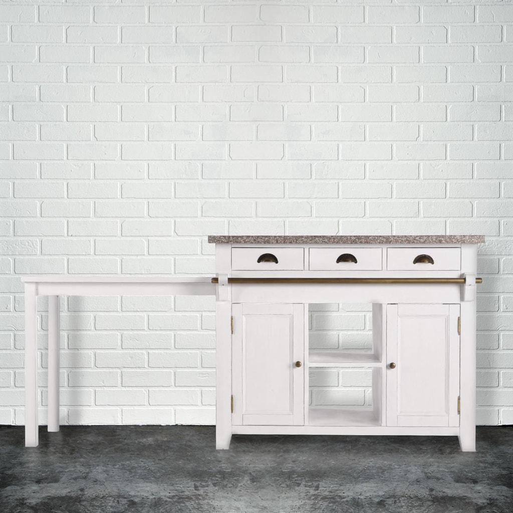 Fotografie MAPLE HILL Kuchyňská skříň se žulovou deskou