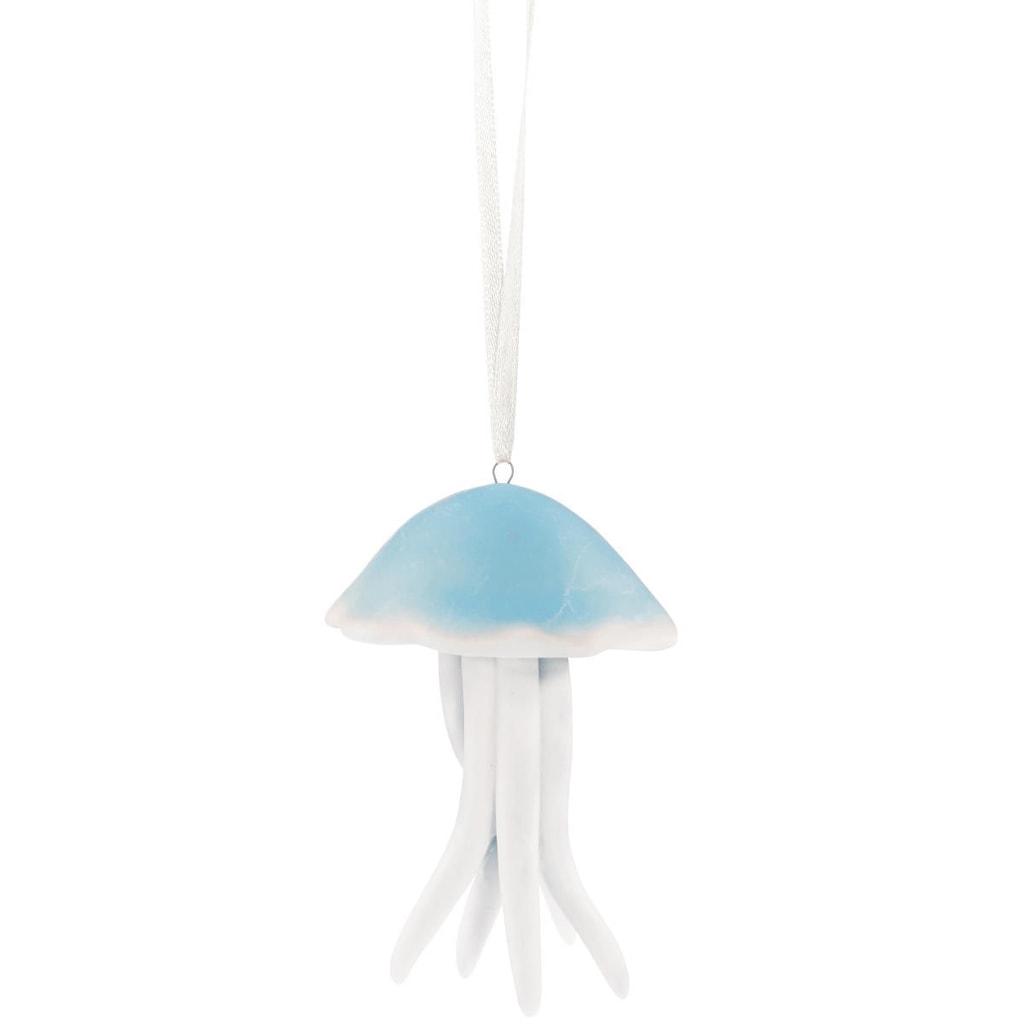 Fotografie PEARLY BEACH Závěsná medúza - modrá