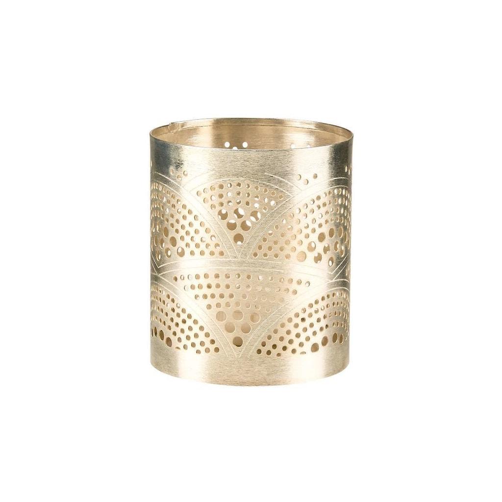 ARABIAN NIGHTS Svícen na čajovou svíčku kudrnky 9,5 cm