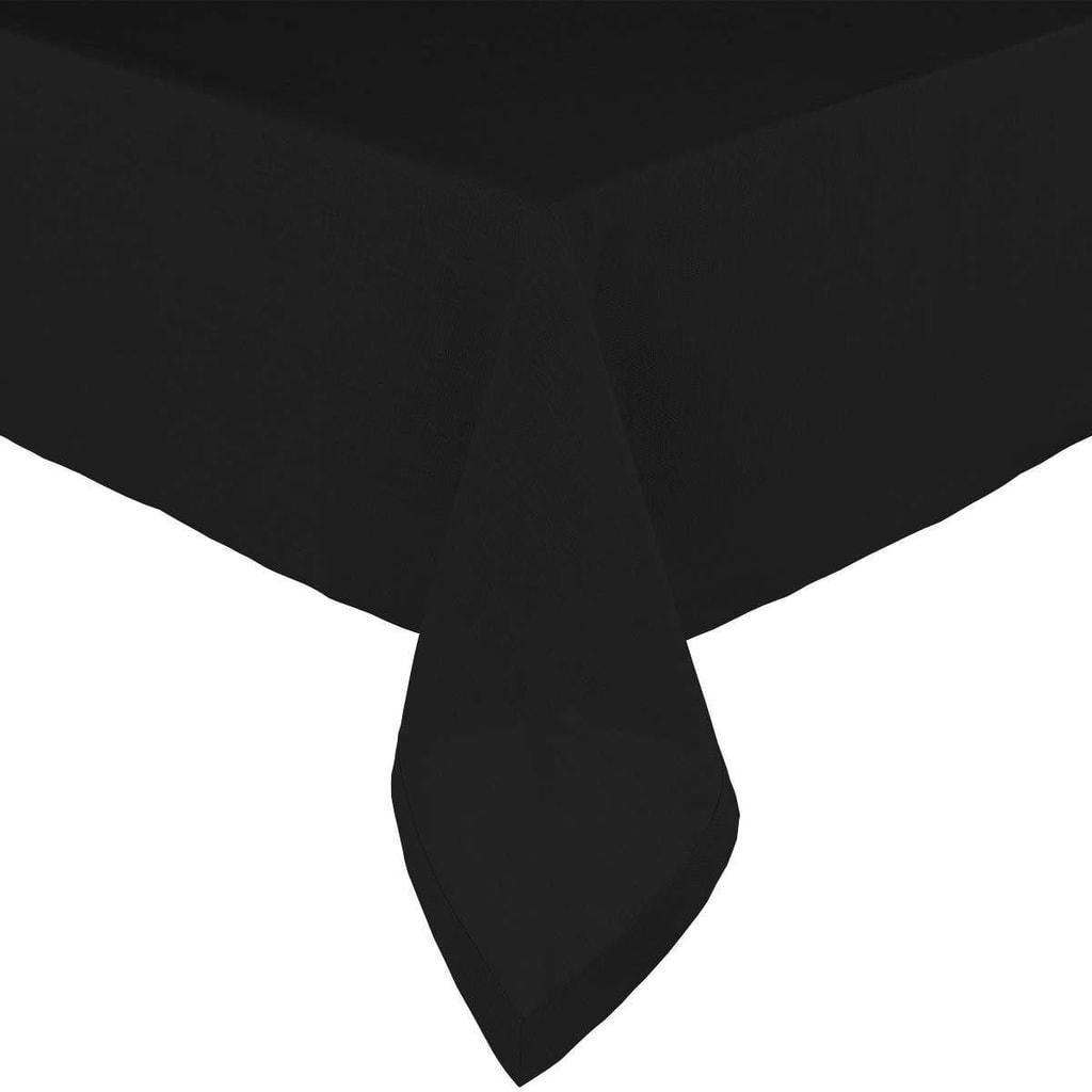 COMPOSITION Ubrus 150 x 150 cm - černá