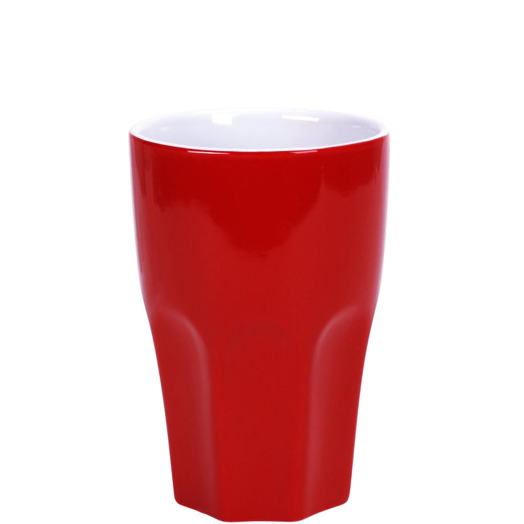 MIX IT! Hrnek Café Latte - červená