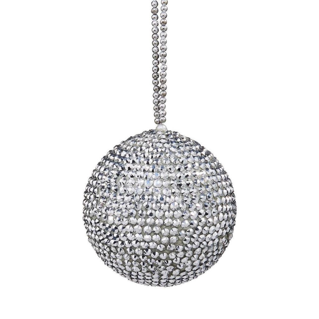 HANG ON Ozdoba koule s krystaly 7 cm