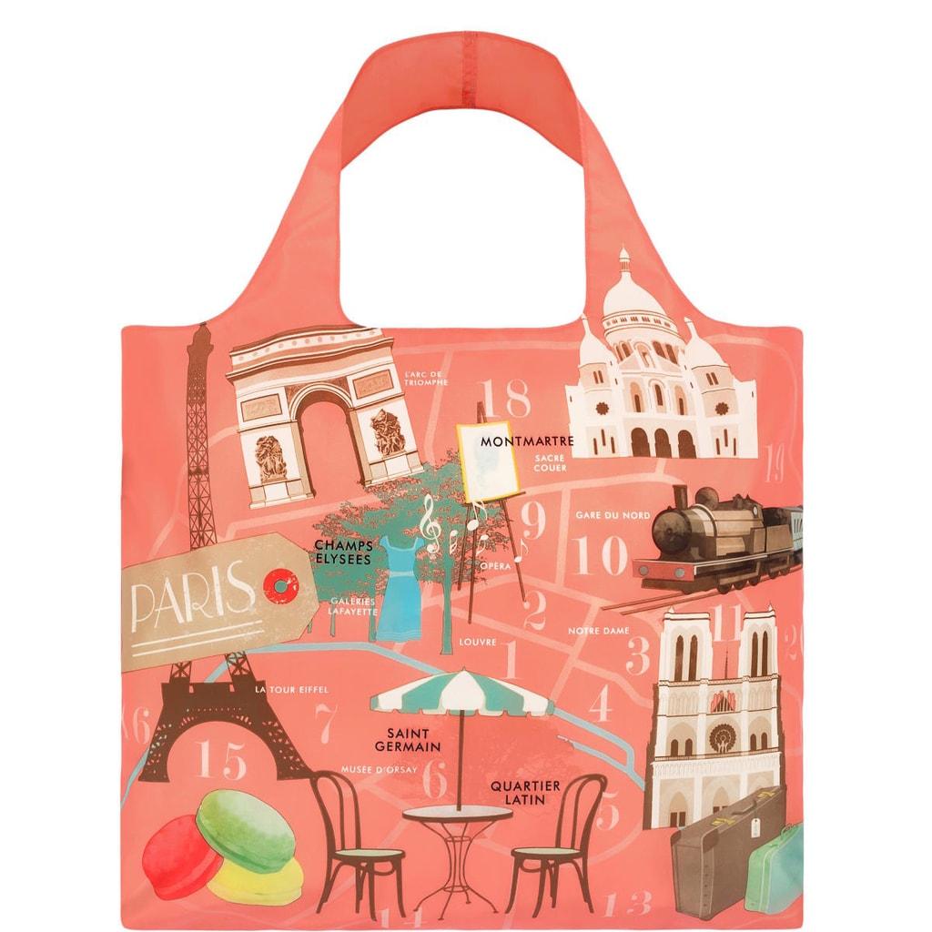 LOQI Nákupní taška Paříž