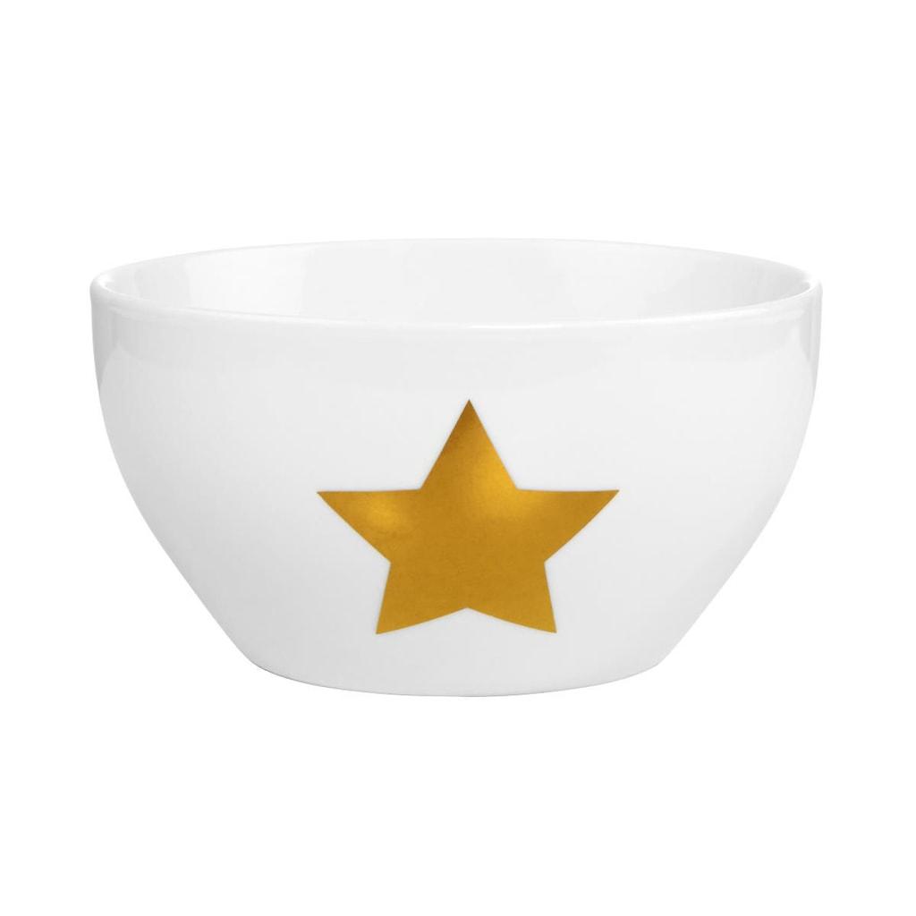 WHITE XMAS Miska hvězda
