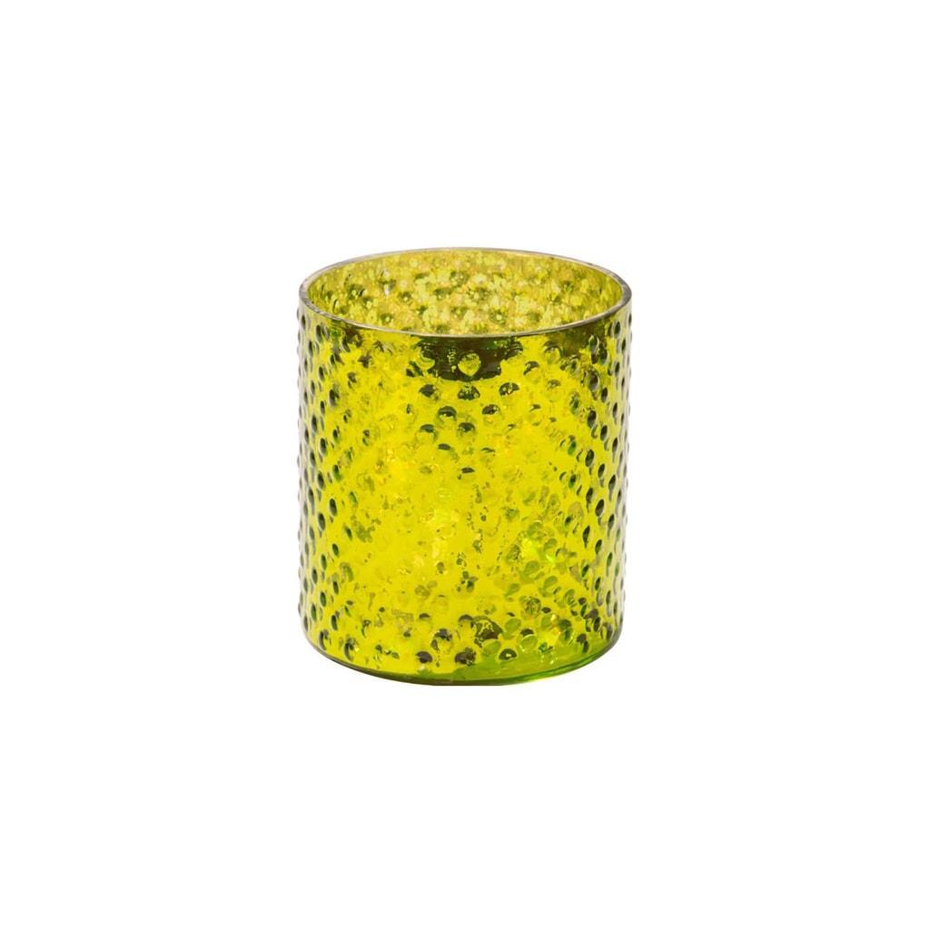 DELIGHT Svícen na čajovou svíčku 8 cm - zelená