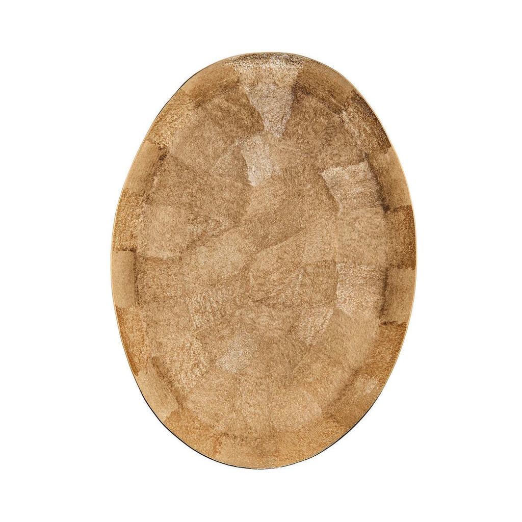 GOLDEN STAR Dekorační talíř oválný 47 cm