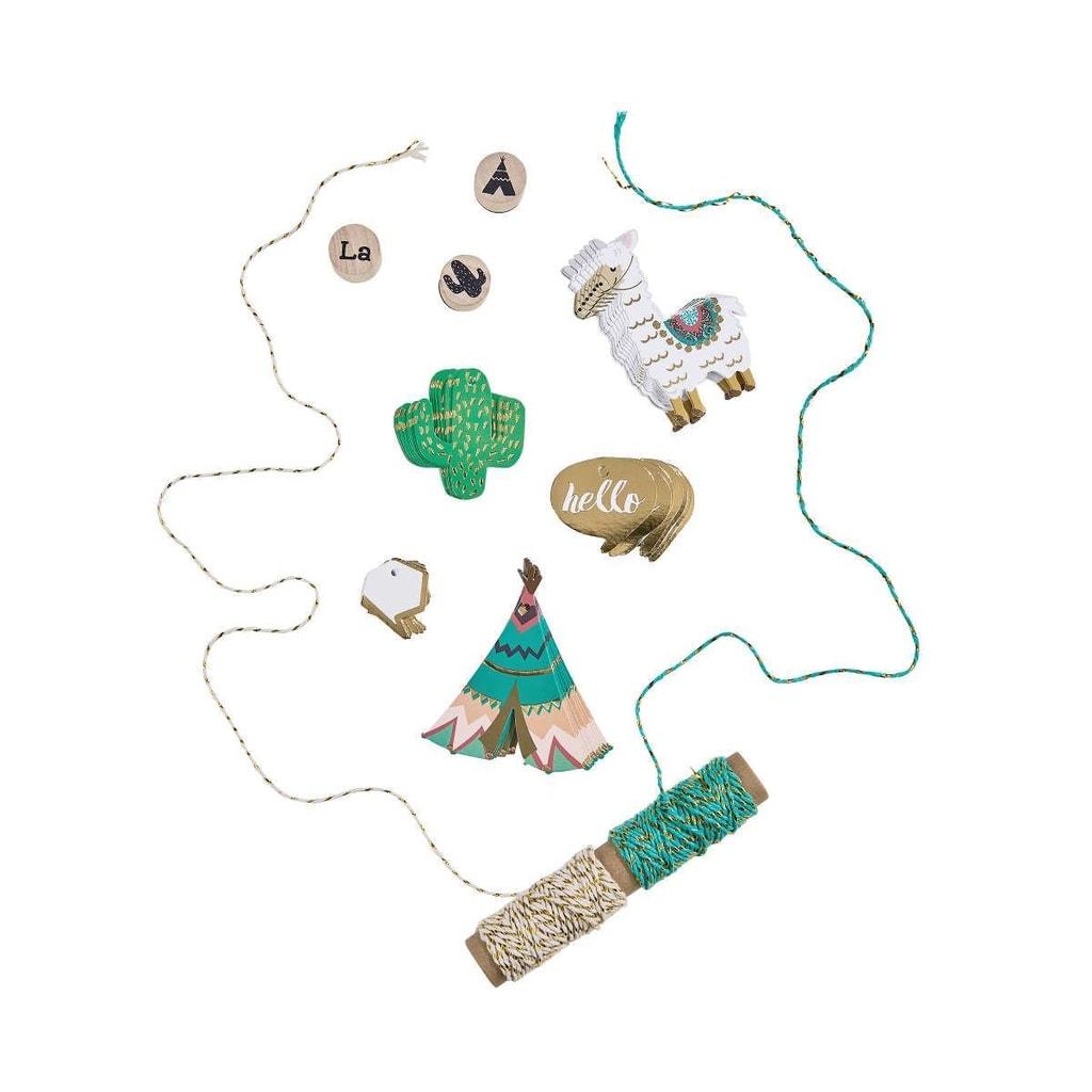 INKA SPIRIT Set na balení dárků lama