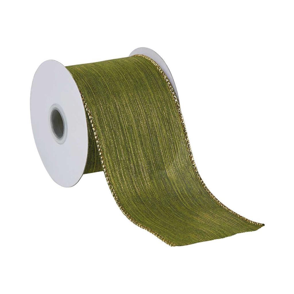 RIBBON Dárková stuha 3 m - zelená