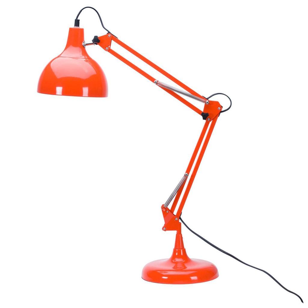 SECRETARY Kancelářská lampa - oranžová