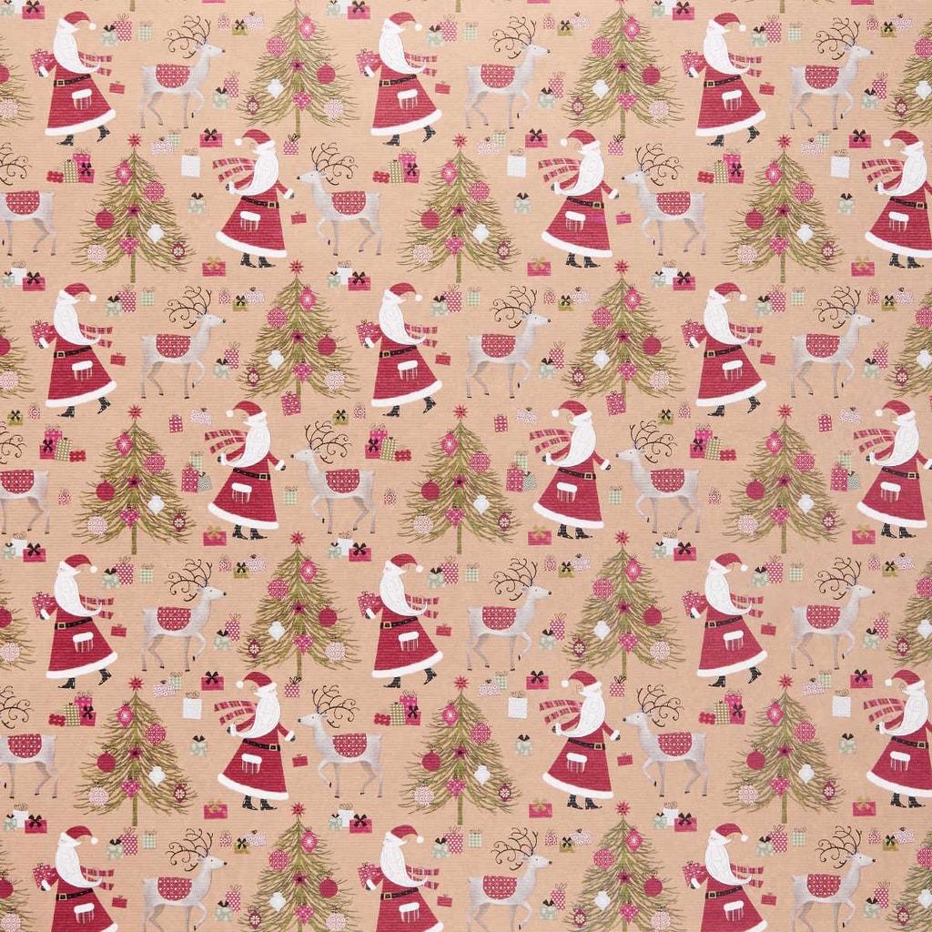 SURPRISE Balící papír Santa