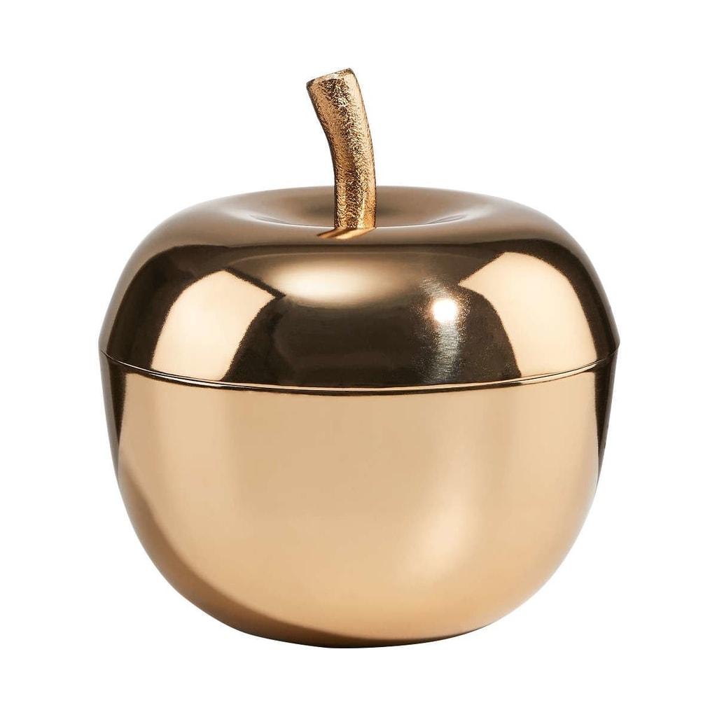 LA POMME Dekorační dóza jablko 14 cm