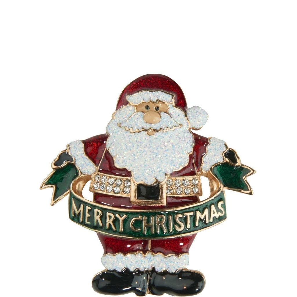 X-MAS Brož Santa Claus