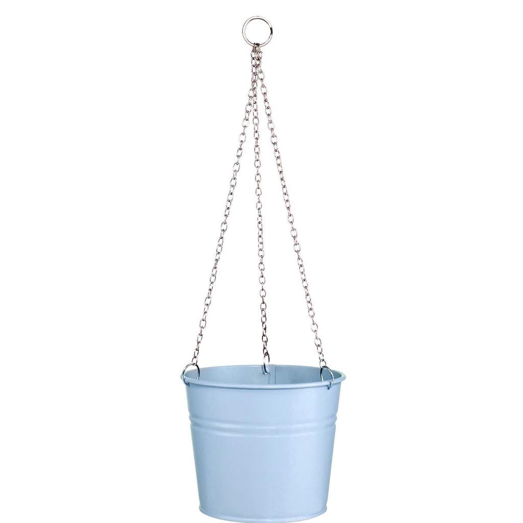 ZINC Závěsný květináč - modrá