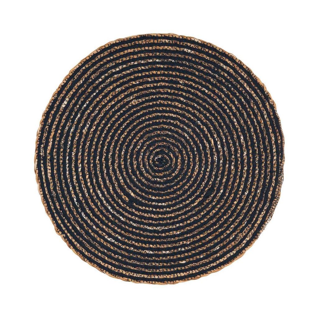 SAUVAGE Prostírání 38 cm - černá