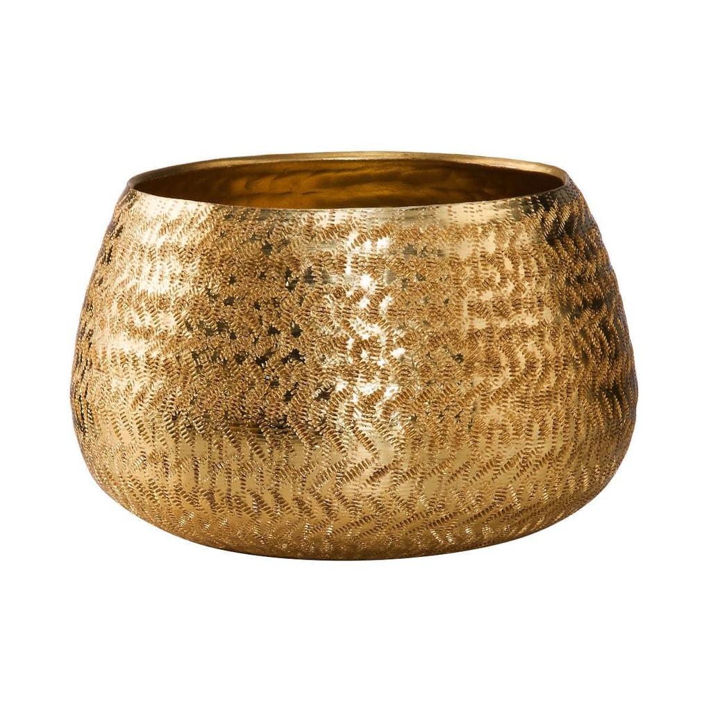 GOLDEN STAR Svícen na votivní svíčky 14 cm