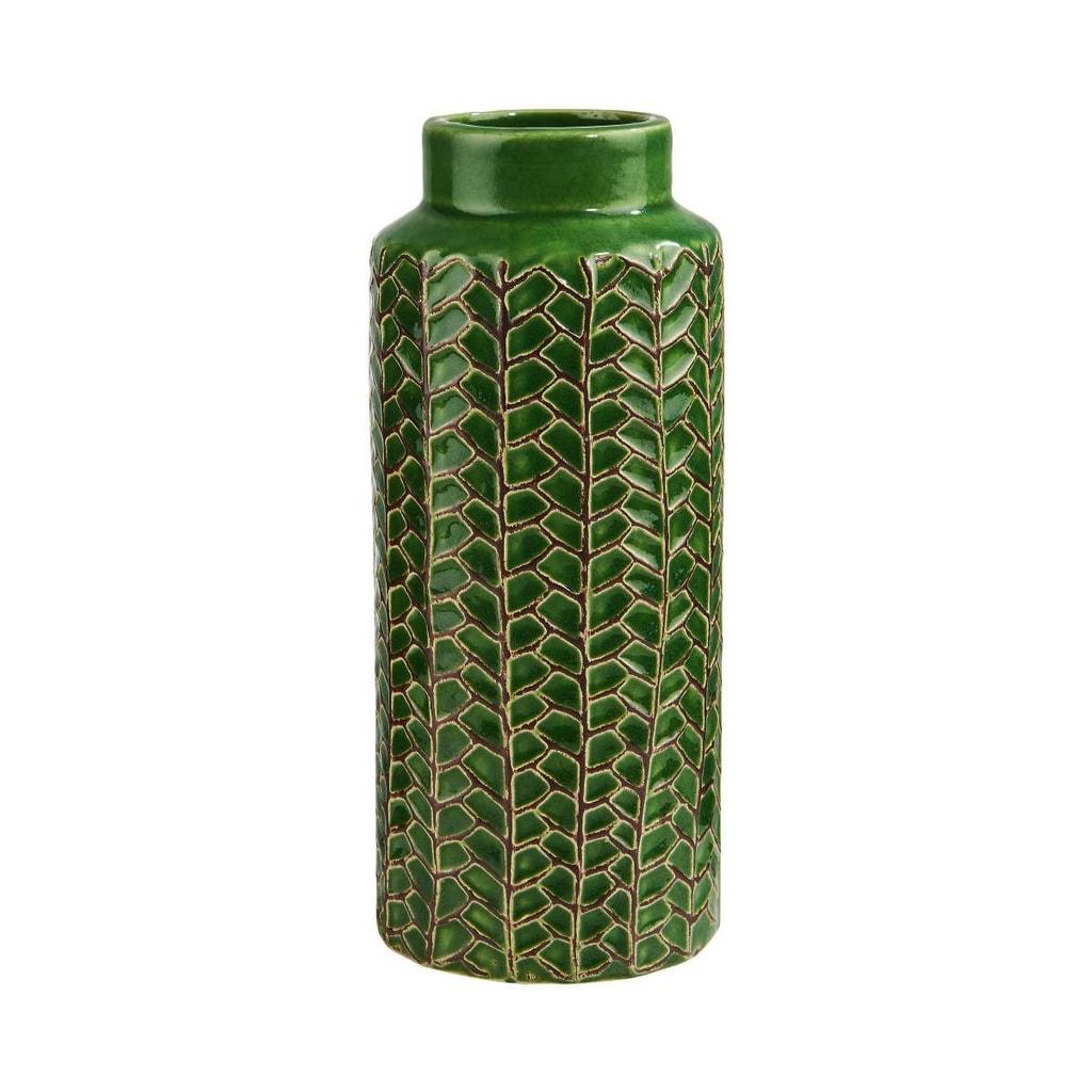 WILD GREEN Váza 20 cm - zelená
