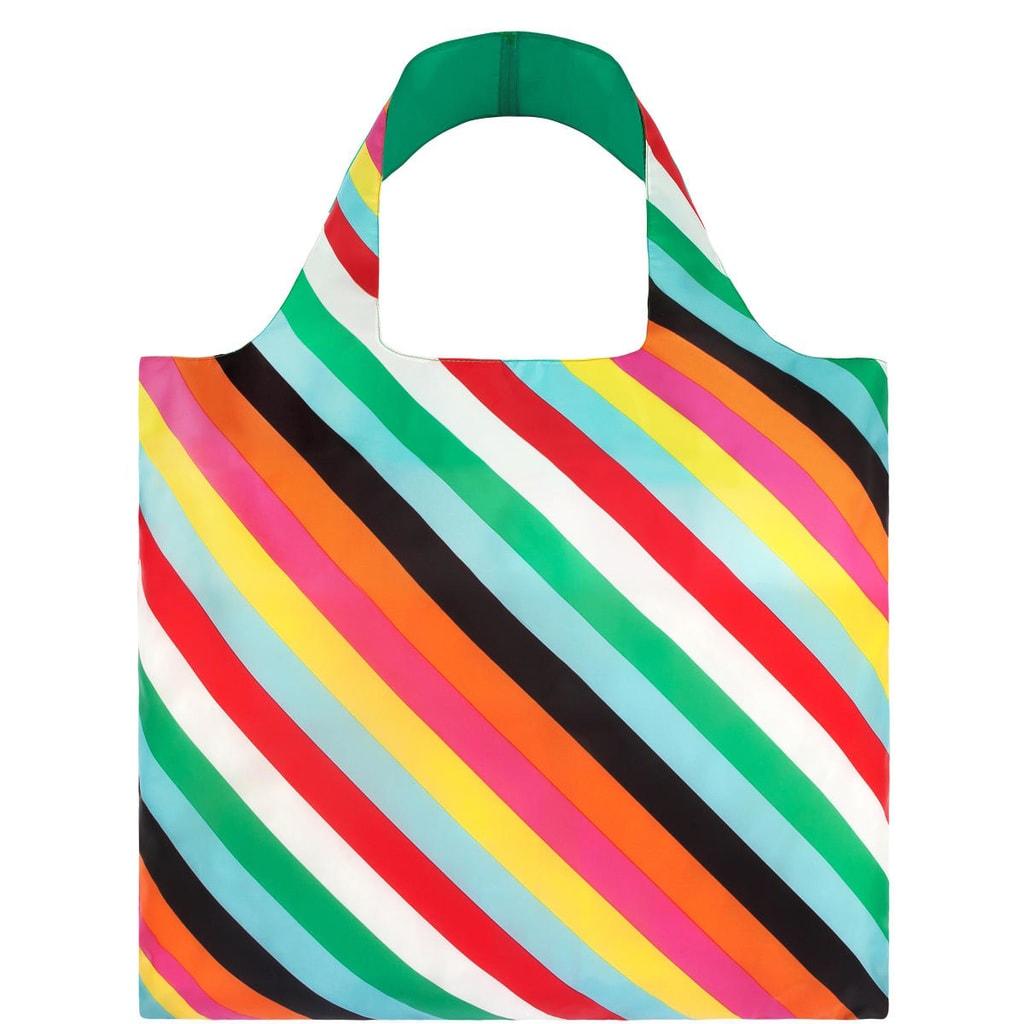 LOQI Nákupní taška s pruhy
