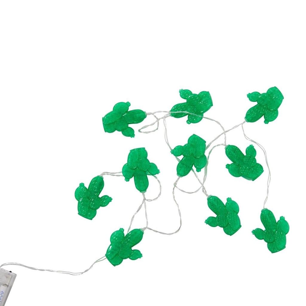 MIAMI Světelný LED řetěz ozdoba kaktus